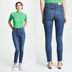 Citizens of Humanity High Rise Slim Ankle Jeans